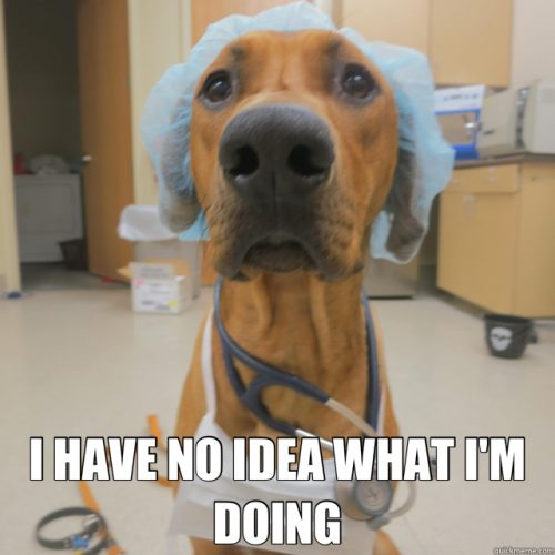 How I felt the first day of surgery... From: http://whatshouldwecallmedschool.tumblr.com/post/72672166657/first-day-of-the-surgery-rotation